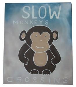 Slow Monkeys crossing