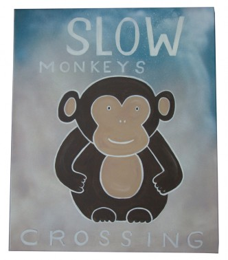Slow Monkeys crossing